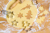 Cookies for christmas — Stock Photo