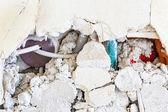 Broken brickwork — Stock Photo