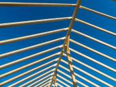 A new roof truss — Stock Photo