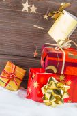 Gifts for christmas — Stock Photo