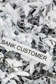 Bank customer — Stock Photo