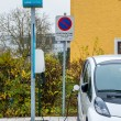 Electric car charging station to — Stock Photo #61621461