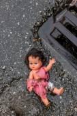 Symbolfoto abuse of children — Stock Photo