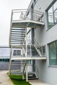 Construction d'escaliers extérieurs — Photo