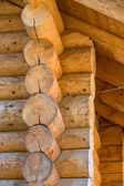 Massive log cabin — Foto Stock