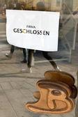 Registrera företaget stängt — Stockfoto