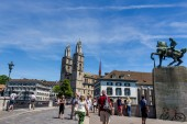 Switzerland, zurich, — Stockfoto