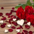 Roses for valentines day and mothers day — Stock Photo #64976789