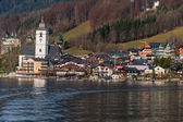 Austria, salzkammergut, santa. wolfgang — Stock Photo