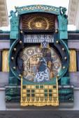 Austria, vienna, anker clock — Stock Photo