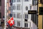 Hotel a Zurigo — Foto Stock