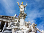 Austria, vienna, parliament — Stock Photo