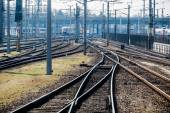 Rails with soft — Stock Photo