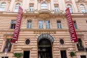 Palais dorotheum art trade — Stock Photo