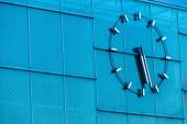 Clock on a building — Stock Photo