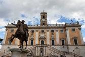 Rome. piazza del campidoglio — Stock Photo