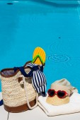Icon photo recovery on vacation — Stock Photo