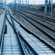Rails with soft — Stock Photo #70742953