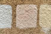 Masonry white shading — Stock Photo