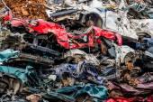 車が廃車 — ストック写真