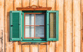 Window blinds and shutters — Stock Photo