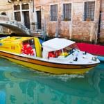 Italy, venice, boat ambulance — Stock Photo #71931529