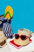 Symbol photo recovery on holiday — Stock Photo