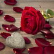 Roses for valentines day and mothers day — Stock Photo #72813943
