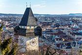 Austria, styria, graz, uhrturm — Stock Photo