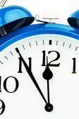 Alarm clock on a white background — Stock Photo