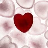 Coração de amor — Fotografia Stock