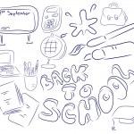 School collection — Stock Vector #70596215