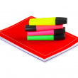 Notebooks and markers — Stock Photo #52133555