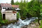Villaggio di rastoke, croazia. — Foto Stock
