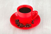 Cup coffee — Stock Photo
