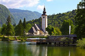 Lake Bjhij, Slovenia — Stock Photo