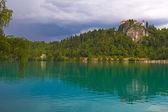 ブレッド城スロベニア — ストック写真
