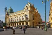 PRAGUE,Municipal House — Stock Photo