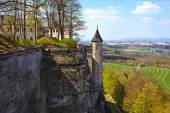 Fortress of Koenigstein — Stock Photo
