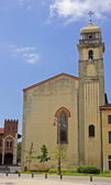 One of the churches in pisa — Stock Photo