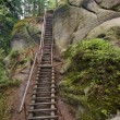 Paths among high rocks in Adrspach — Stock Photo #57308433