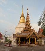 Wat Phra Kaeo Don Tao in Lampang - Thailan — Stock Photo