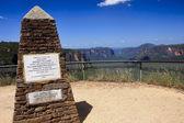 Blue Mountain near Sydney in Australia — Stock Photo