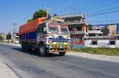 Nepalese truck — Stock Photo