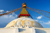 Boudhanath Stupa in Kathmandu — Stock Photo