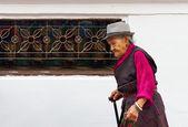 Nepálská lidí v káthmándú. — Stock fotografie