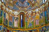 Fresco of Church Sant Climent de Taull — Stock Photo