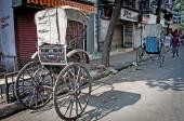 Indyjski riksza — Zdjęcie stockowe