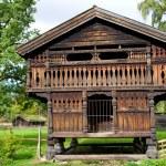 Traditional Norwegian House — Stock Photo #56891399