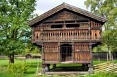 Traditional Norwegian House — Stock Photo